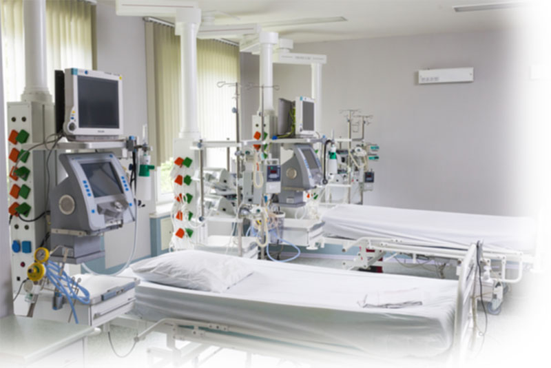 A c intensive care unit